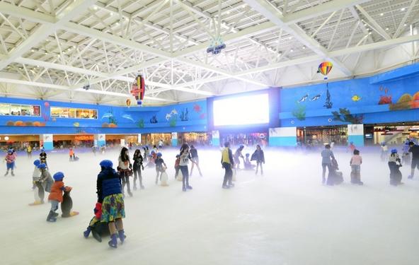 khu trượt băng của royal city